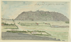 N.E. view of Bellary Fort